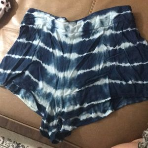 Billabong tie dye beach shorts